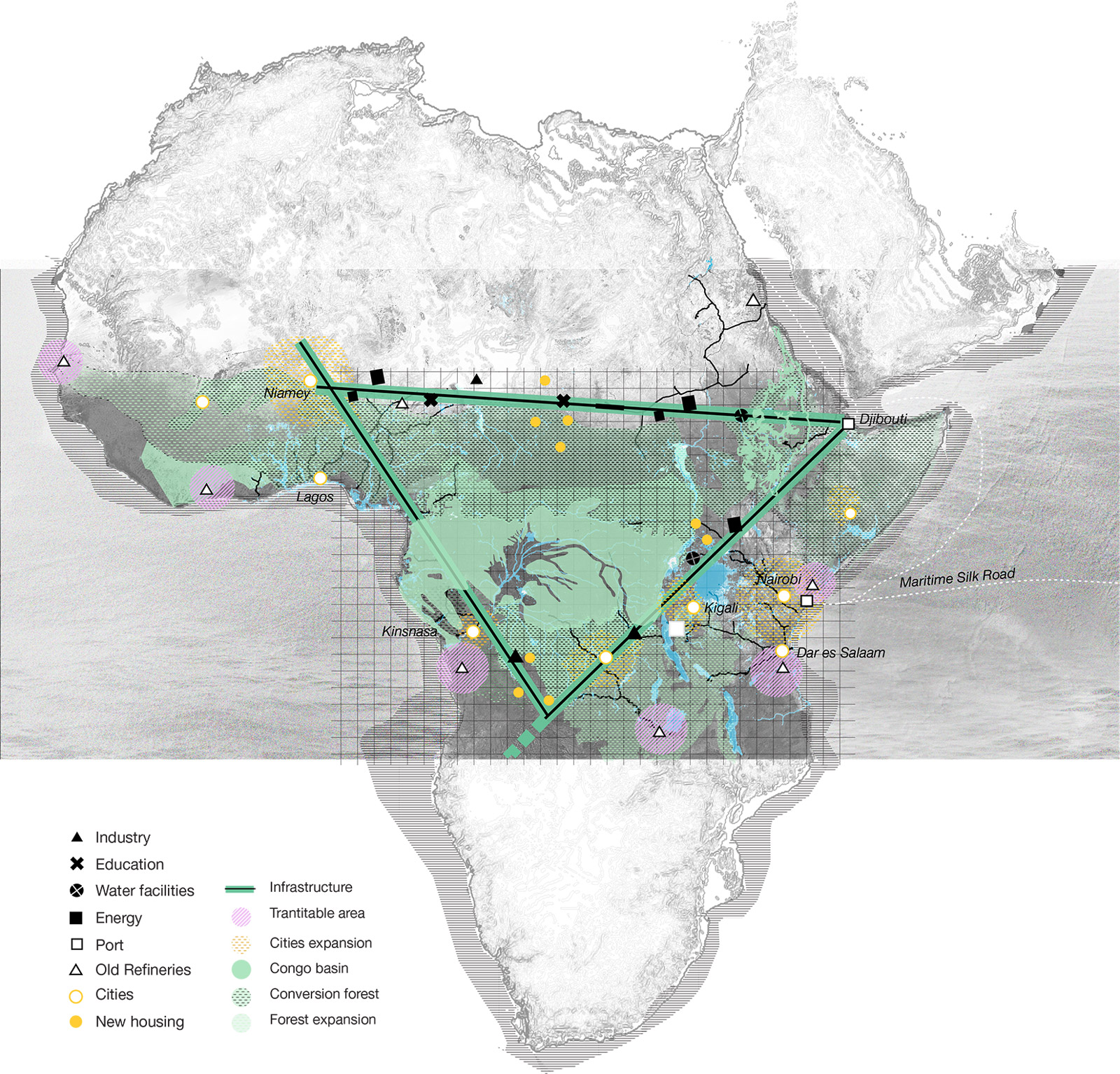 """fig-14_The-""""African-Forest-Triangle"""""""
